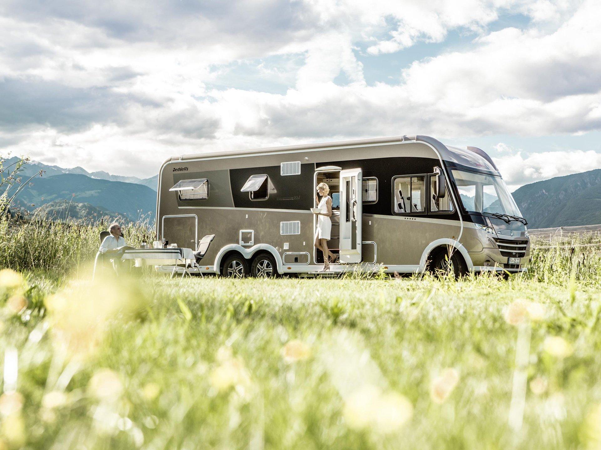 Wohnwagen, Wohnmobil, Reisemobil mieten - Seltenhofer